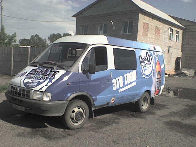 """Брендирование автомобилей для компании """"Балтика"""""""